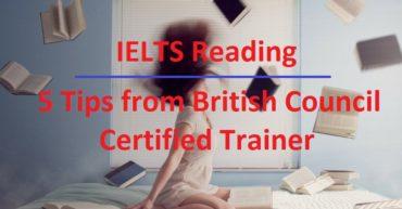 Reading tips for IELTS exam