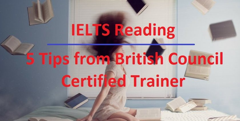 Reading tips for IELTS exam