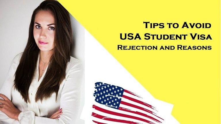 usa student visa rejection